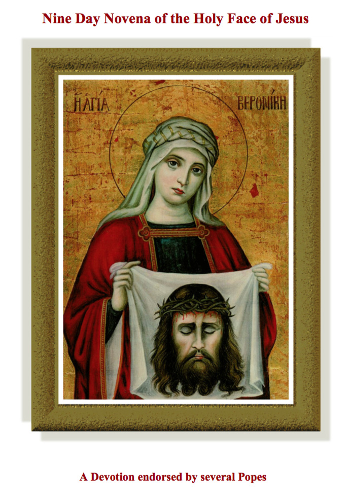 nine day novena to the holy face of jesus