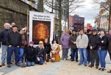 110 All Ireland Good Friday Holy Face public Vigils