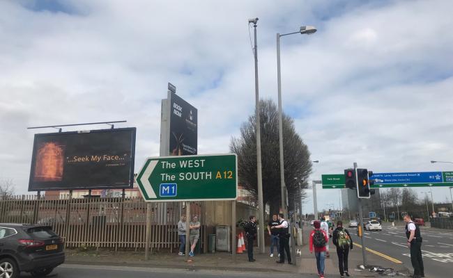 York St. at Westlink Belfast